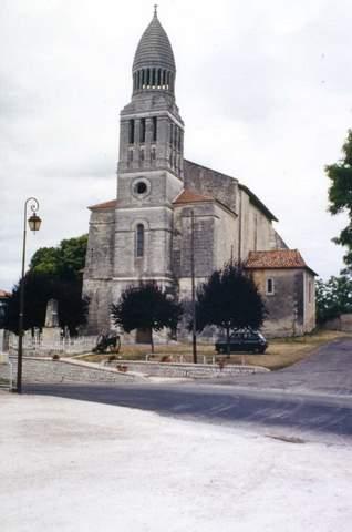 Allemans - Eglise Saint-Pierre-ès-Liens