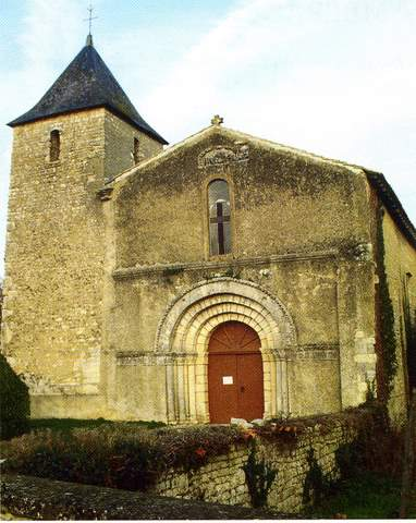 Ambérac - Eglise Saint-Etienne