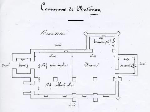 Châtenay - Eglise Saint-Sulpice