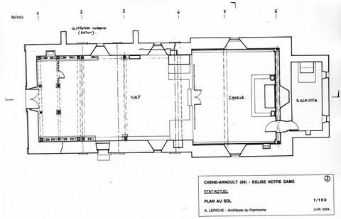 Chêne-Arnoult - Eglise de l'Assomption