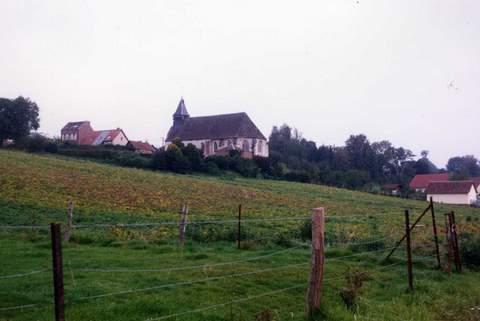 Courcelles-sous-Moyencourt - Eglise Saint-Jean-Baptiste