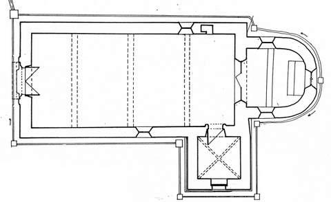 Escamps - Chapelle Sainte-Reine