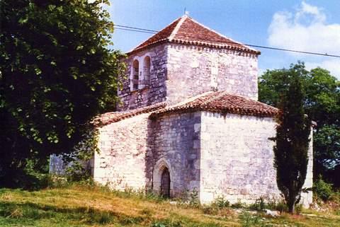 Flaugnac - Chapelle du château de Saint-Privat