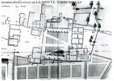 Flée - Chapelle du Château de la Motte-Thibergeau