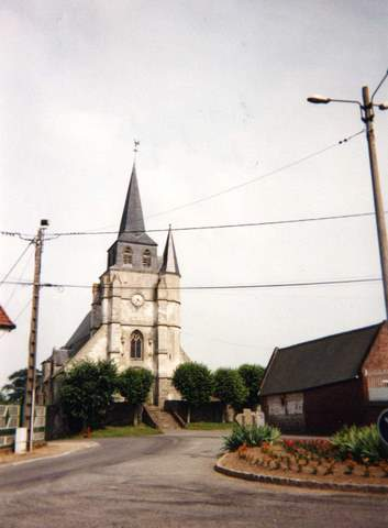 Gannes - Eglise Saint-Denis