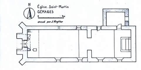 Gémages - Eglise Saint-Martin