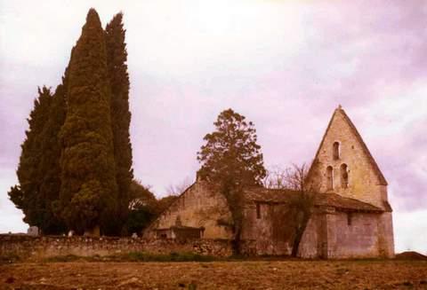 Lannes - Eglise du hameau de Cazeaux
