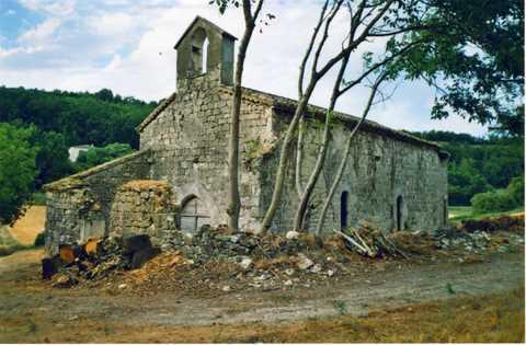 Lauzerte - Eglise Saint-Martin-de-Carces