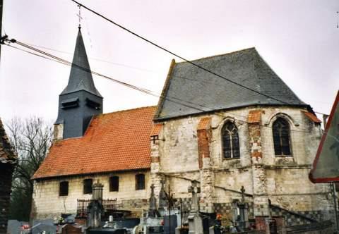 Marles-sur-Canche - Eglise Saint-Firmin