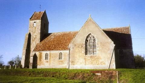 Monhoudou - Eglise Saint-Hélier