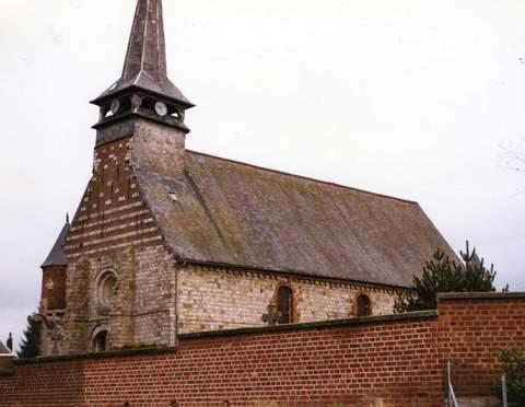 Neuville-en-Avesnois - Eglise Sainte-Elisabeth
