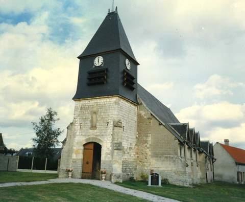 Remaugies - Eglise Saint-Léger