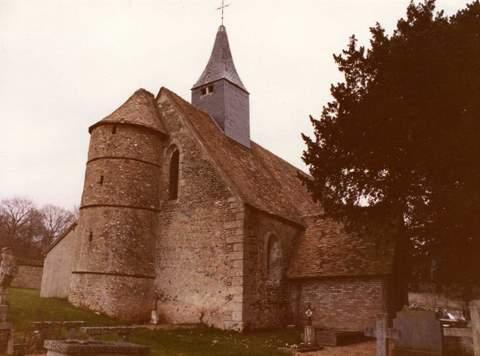 Sainte-Barbe-sur-Gaillon - Chapelle Saint-Vulfranc- de Courmoulin