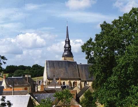 Sainte-Osmane - Eglise Sainte-Osmane