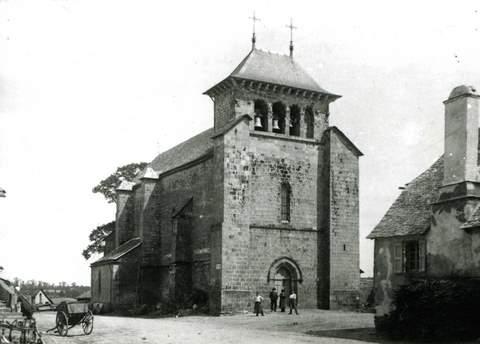 Sansac-de-Marmiesse - Eglise Saint-Eutrope