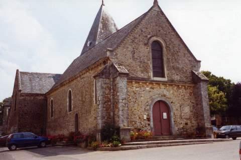 Saulges - Eglise Notre-Dame