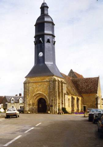 Saint-Cyr-la-Rosière - Eglise Saint-Cyr