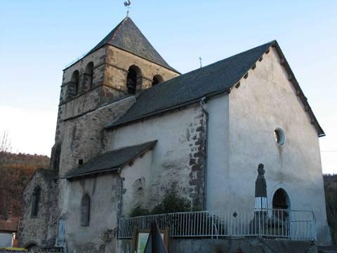 Auriac-l'Eglise - Eglise Saint-Nicolas