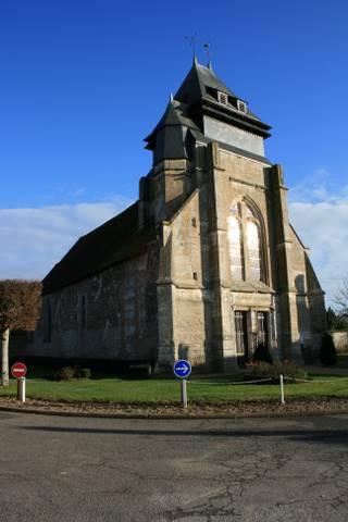 Chavigny-Bailleul - Eglise Saint-Loup-de-Chavigny