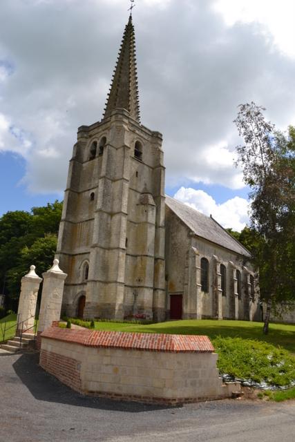 Hermaville - église Saint-Georges