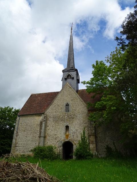 Gournay-le-Guérin - église Saint-Gilles de Petiteville